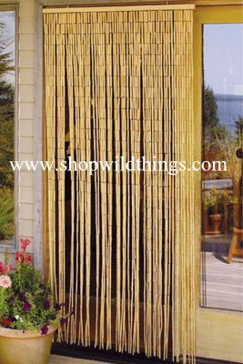 Bamboo Curtain For Doorway, 90 Strand Plain Bamboo Beaded Curtains, Bamboo  Curtains With A Lot Of Coverage, Natural Bamboo Beads Curtain, Buy Bamboo  ...