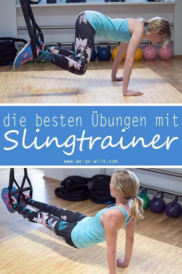 Du suchst nach effektiven Slingtrainer Übungen für zuhause? Klicke hier für die besten Übungen mit S...