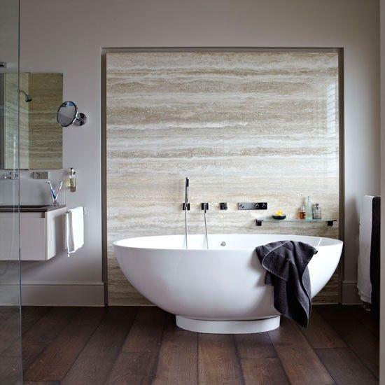 Moderne Marmor-Badezimmer Wohnideen Badezimmer Living Ideas Bathroom ...