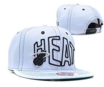6421115f47c Casquette NBA Miami Heat Snapback Blanc Casquette New Era Pas Cher ...