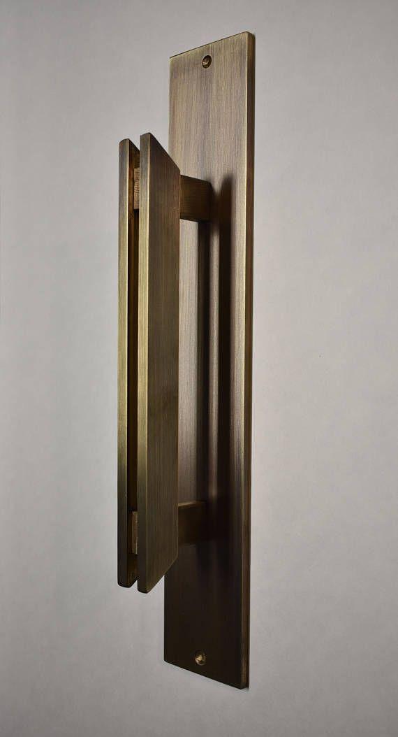 Barn Door Handle Aged Brass Door Pull Handle Barn Door Handle With