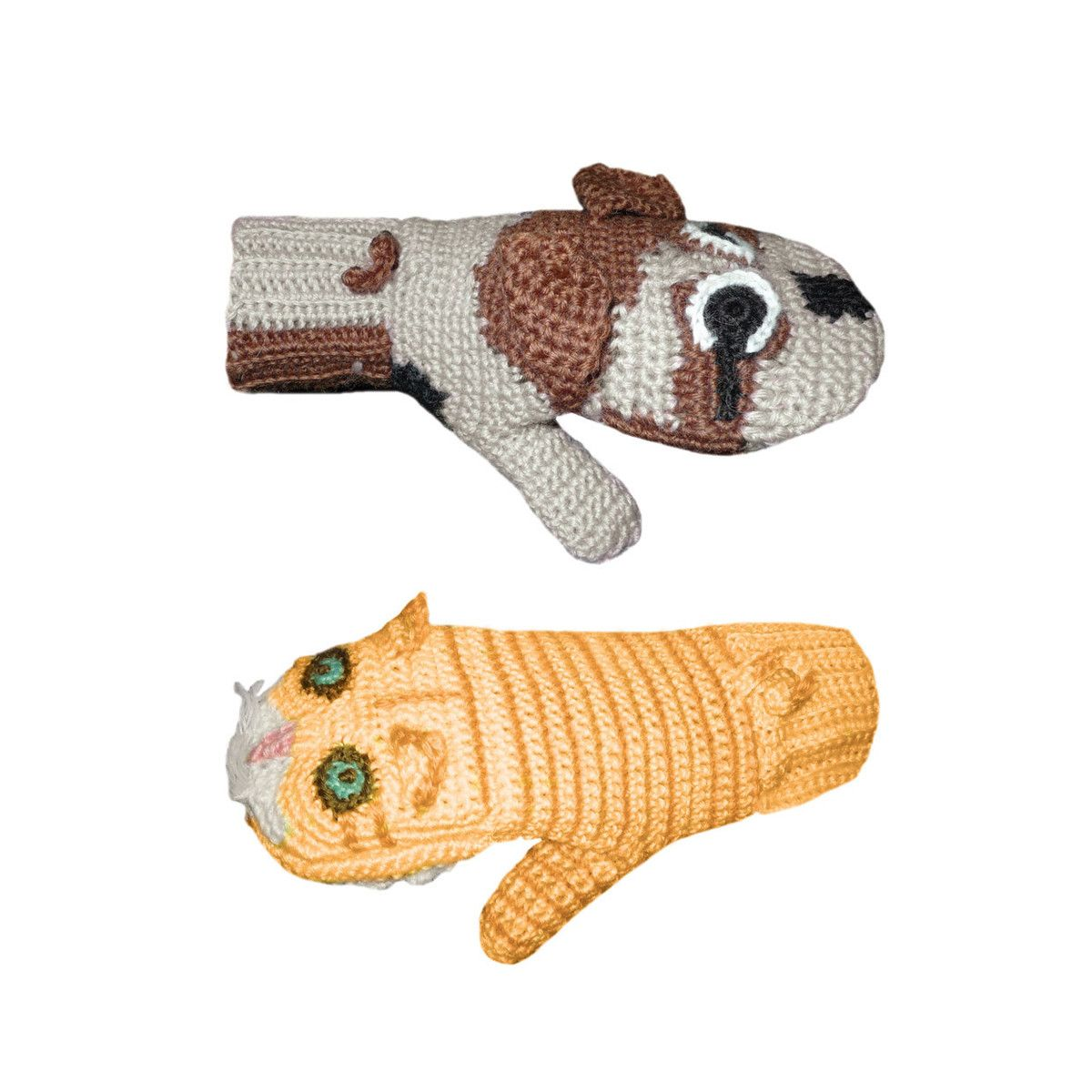I Liked This Design On Fab Dog Vs Cat Kitten Mittens Hand Puppets Cats