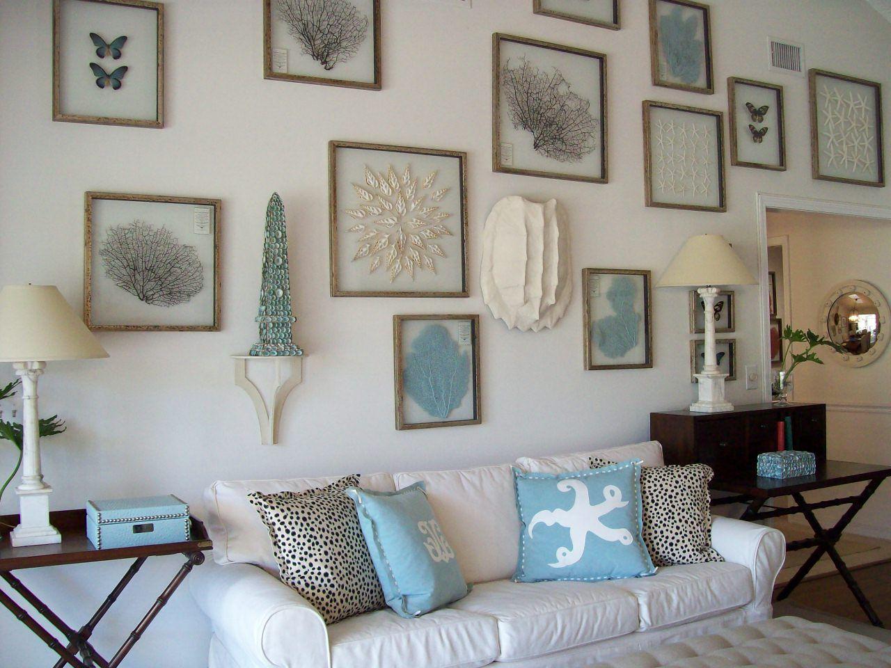 Coastal living small bathrooms - Modern Beach Themed Living Room Lavita Home Florida Decorating Ideas Home How To Decorate Decoration Beach