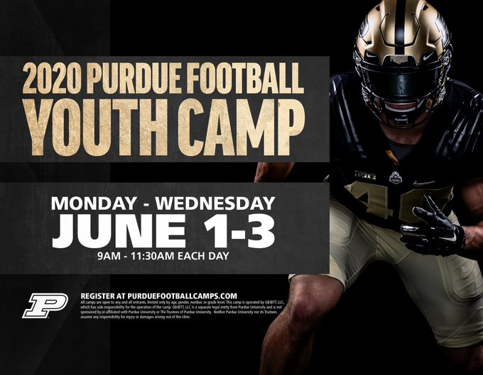 Home Twitter In 2020 Youth Camp Purdue Youth