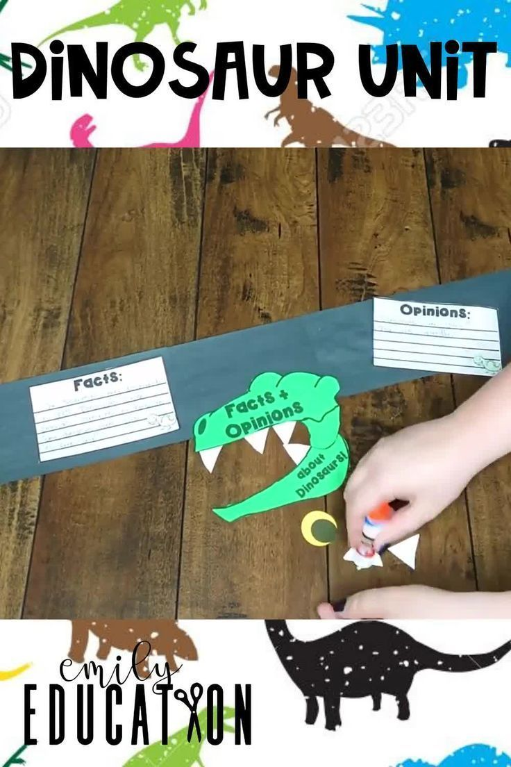 Dinosaur Activities for 1st and 2nd Grade