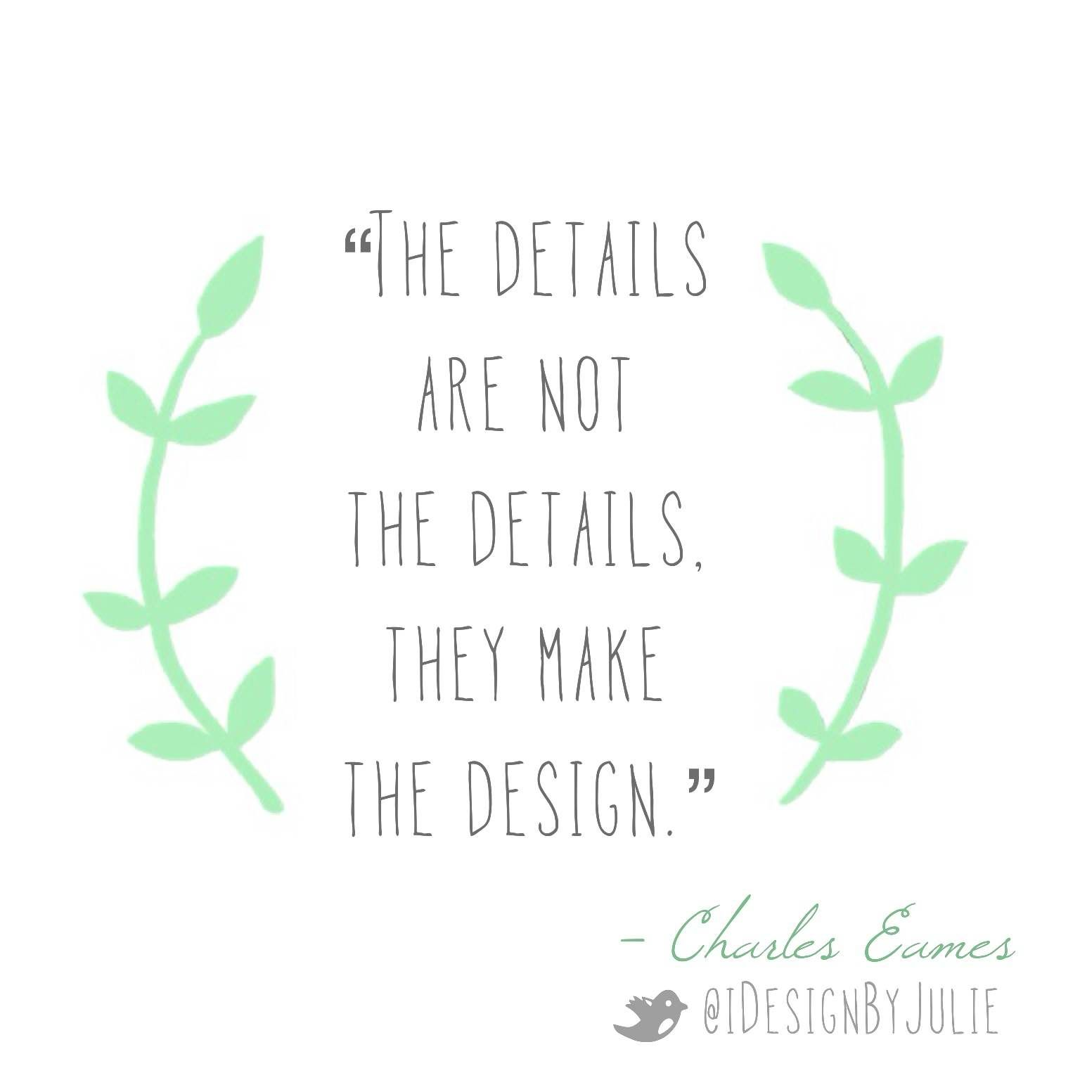Please re-pin this inspirational interior design quote by ...