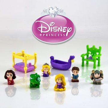New Squinkies Disney Princess Rapunzel - Going to have to hunt for these and put away for a gift!!
