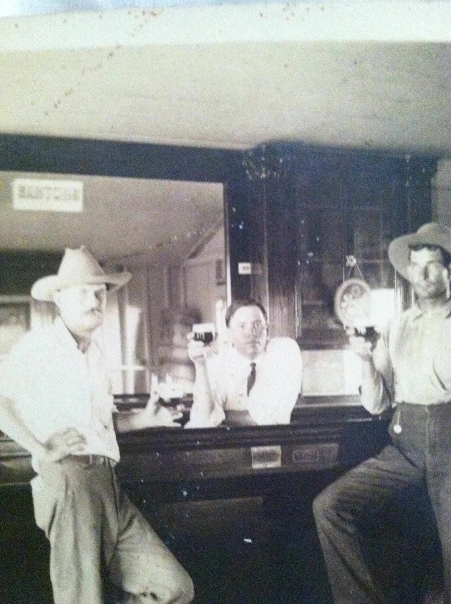 Lets have a drink in a texas bar south texas old bar