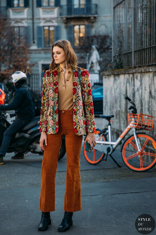 Milan Fall 2020 Street Style: Cara Taylor – STYLE DU MONDE | Street Style Street Fashion Photos Cara Taylor