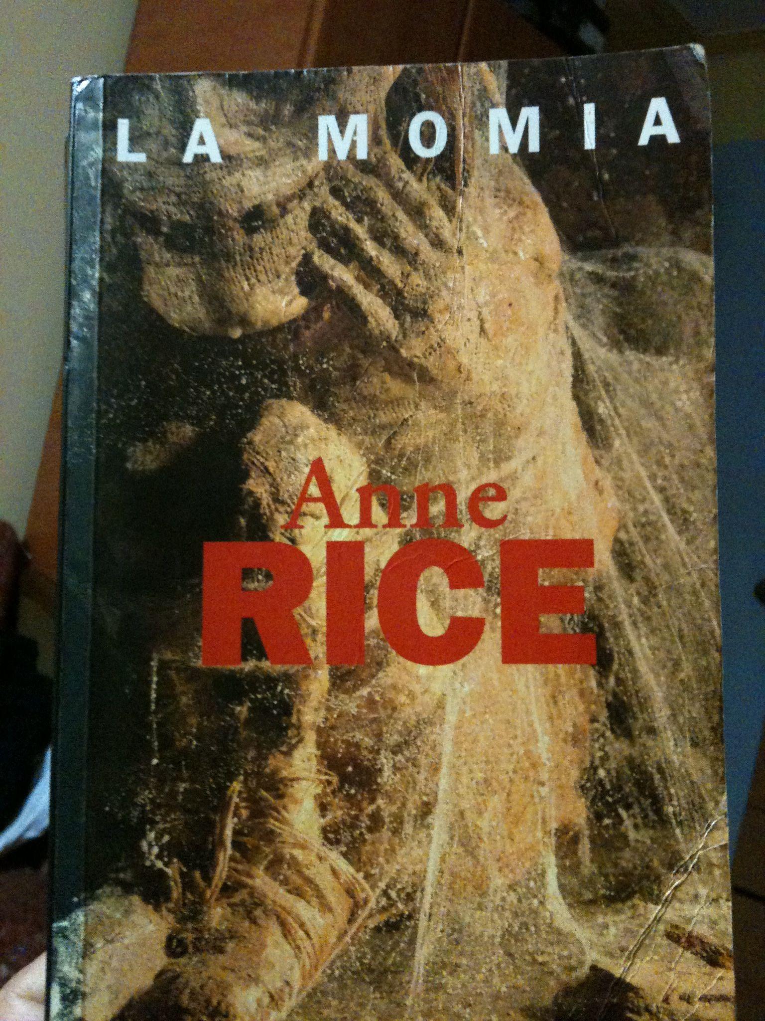 La Momia Anne Rice Anne Rice La Momia Y Libros