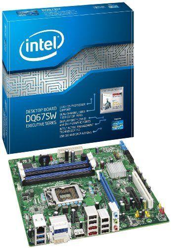 Intel BOXDQ67SWB3 - LGA 1155 Intel Q67 chipset Micro ATX