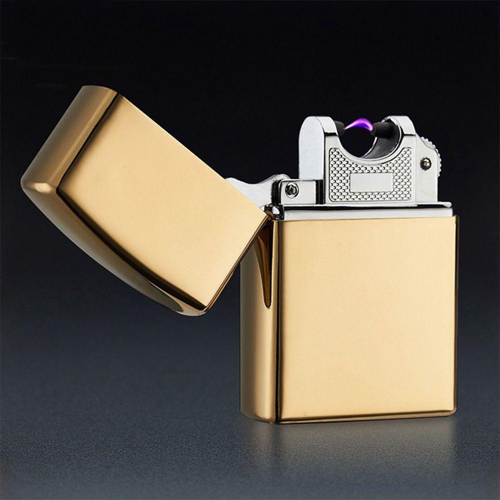 Electronic Cigarette Lighters Metal Pulse Single Arc USB