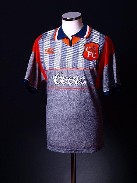 54aacde57 Chelsea 1994-96 Umbro Away Shirt