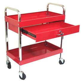 Excel 37 1 In 1 Drawer Utility Cart Tc303d Red Baby Changing