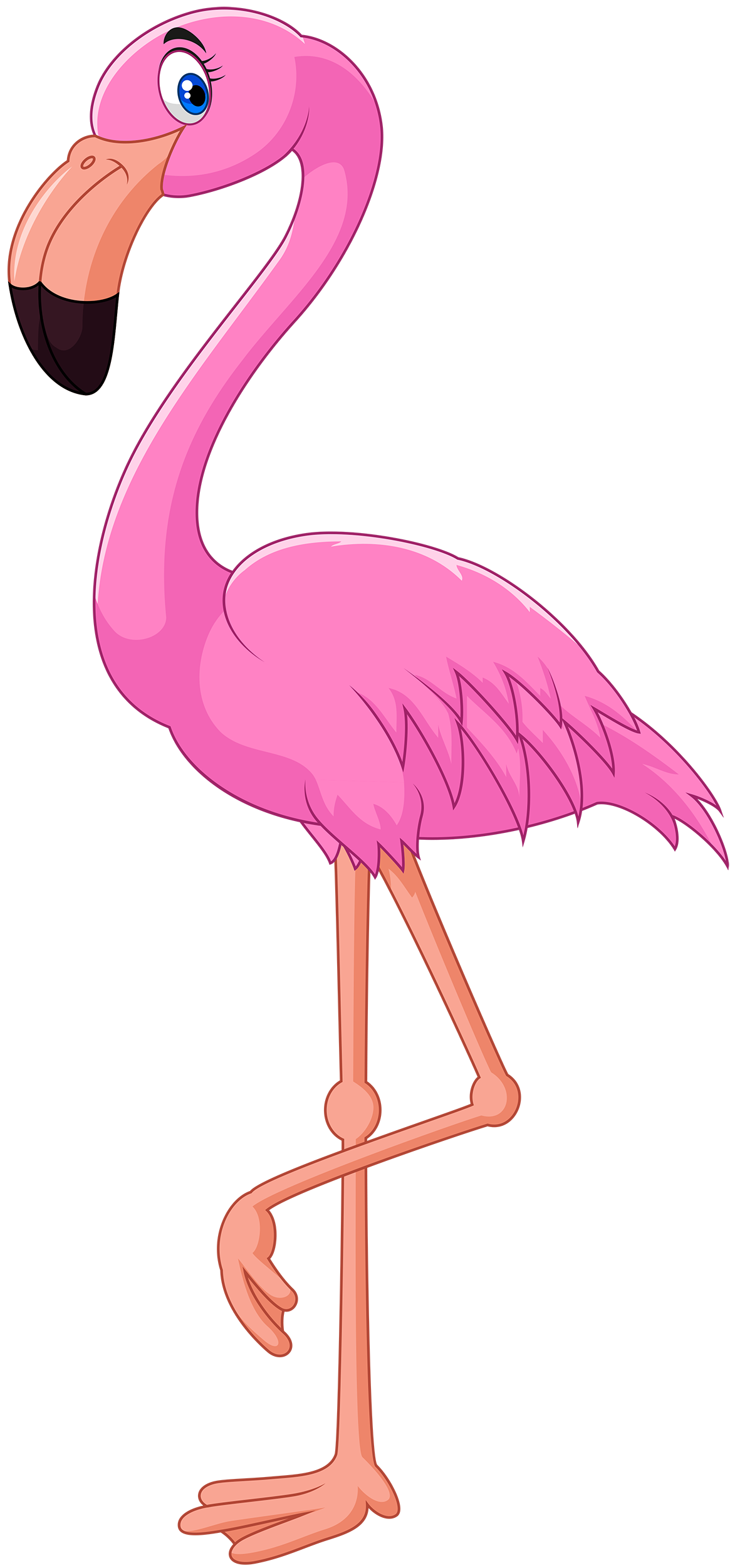 pink flamingo clipart web clipart pink flamingo theme pinterest rh pinterest com flamingo clipart free flamingo clipart free