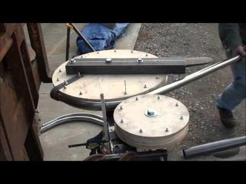 Diy Tubing Bender Youtube Metal Working Tools Metal Shop Metal Working Projects
