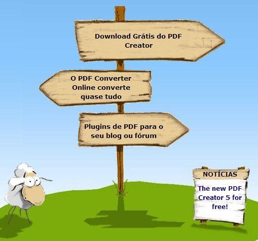 Crie e converta praticamente tudo para PDF  online e de graça!!!
