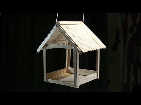 Photo of Popsicle Stick Birdhouse
