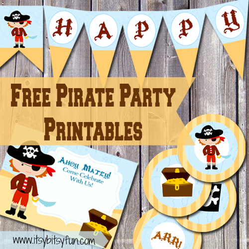 Free Printable Pirate Party Supplies Itsybitsyfun Com Pirate Party Invitations Pirate Invitations Pirate Party Invitations Template