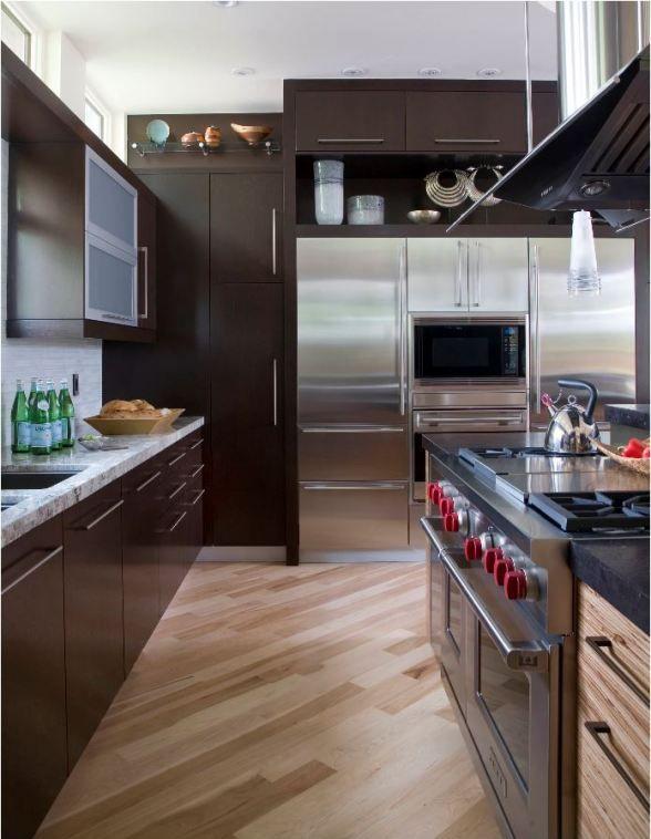 diagonal wood floor kitchen | Kitchen Project | Pinterest