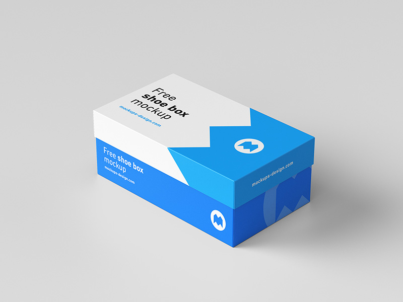 Download Free Shoe Box Mockup Mockups Design Free Premium Mockups Box Mockup Shoe Box Design Shoe Box