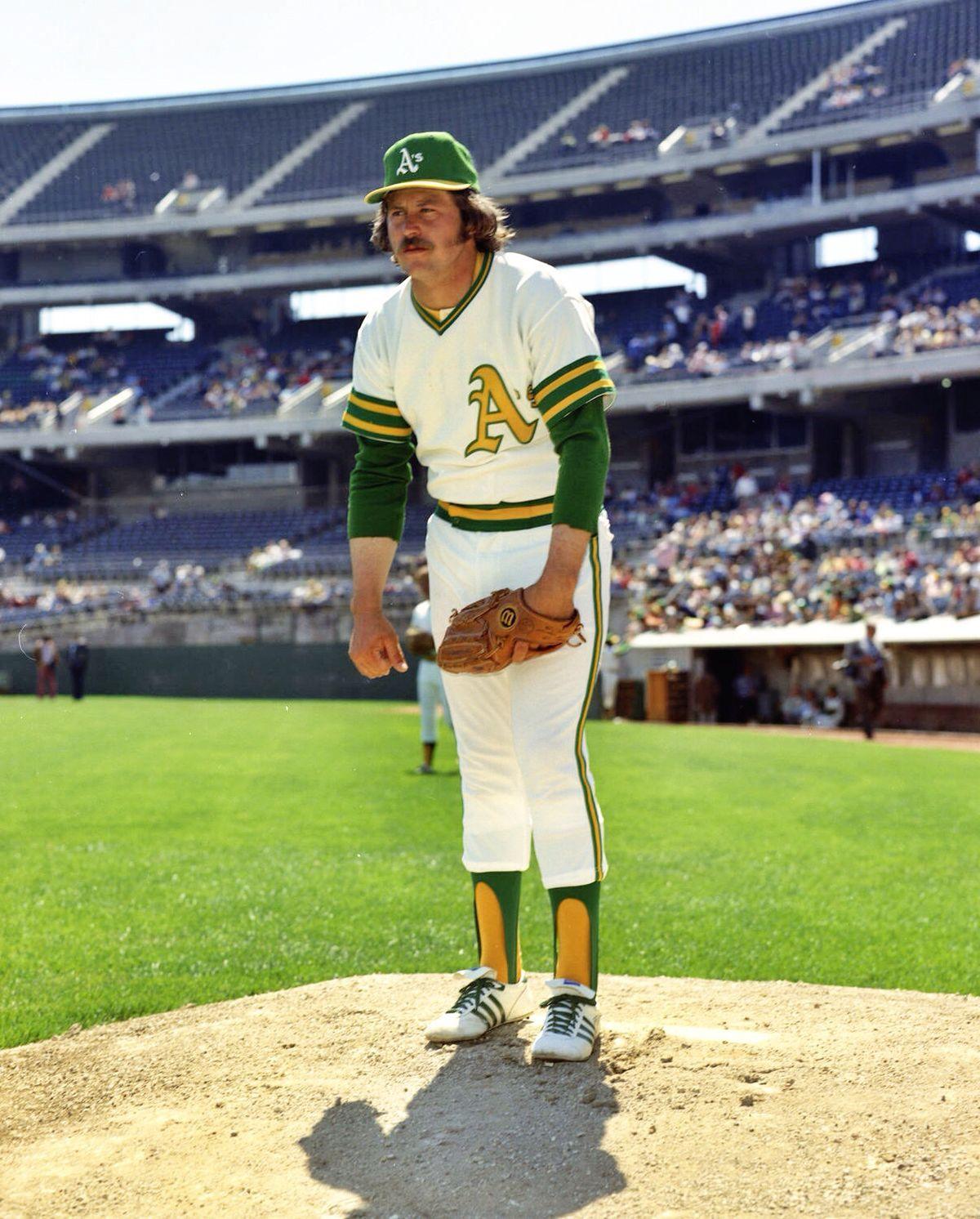Catfish Hunter Oakland Athletics Baseball Oakland Athletics Play Baseball