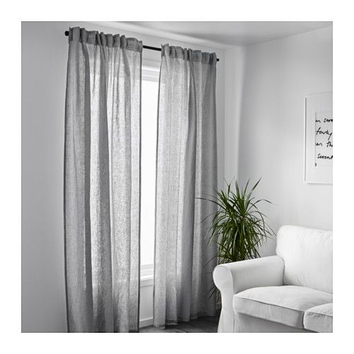 aina curtains 2 panels i like the light airy look of these katie s pinterest. Black Bedroom Furniture Sets. Home Design Ideas