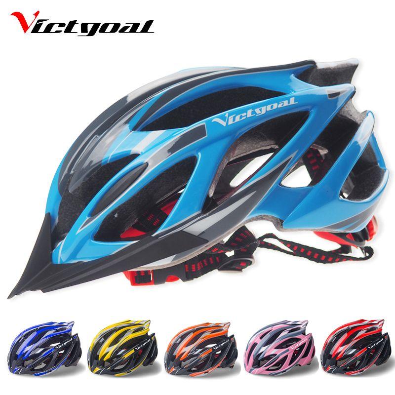 Victgoal Bicycle Helmets Visor Men Women Ultralight Cycling Bike
