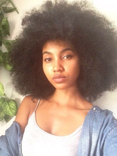 Image Via We Heart It Afro Blackgirl Gorgeous Naturalhair Pretty Tumblr Instagram Facegoals Natural Hair Styles Hair Styles Curly Hair Styles Naturally