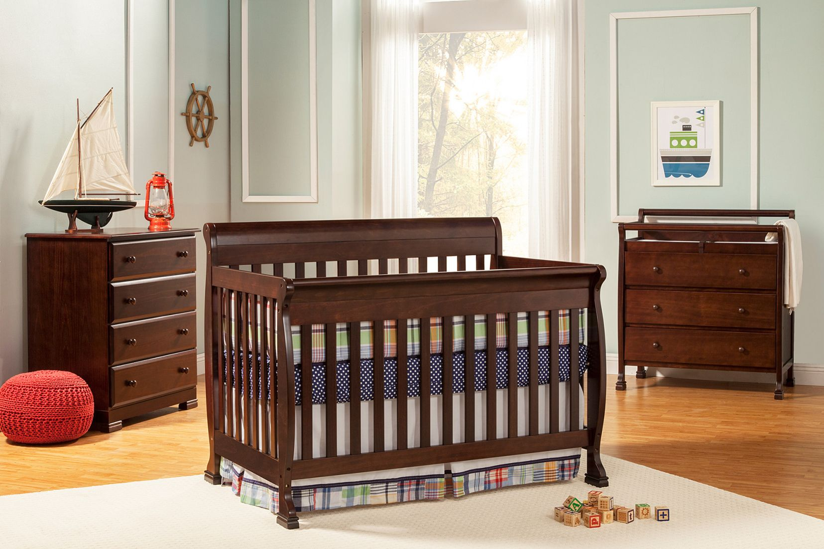 55 Crib Toddler Bed Combo