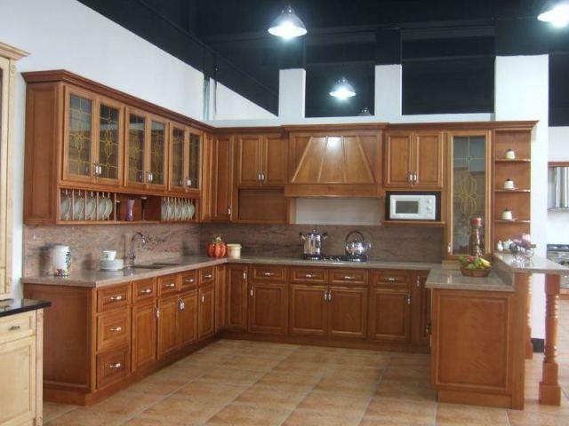 Meuble De Cuisine En Bois Moderne 4 Jpg 640 480 Kuche Entwerfen Innenarchitektur Kuche Kucheneinrichtung