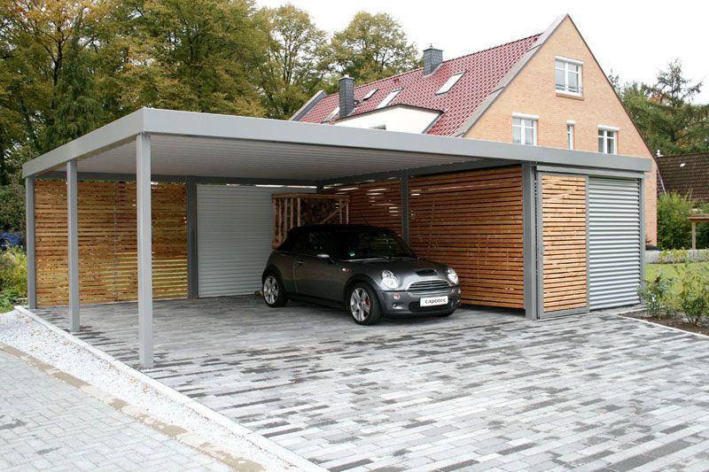 moderne carport more pinterest c. Black Bedroom Furniture Sets. Home Design Ideas