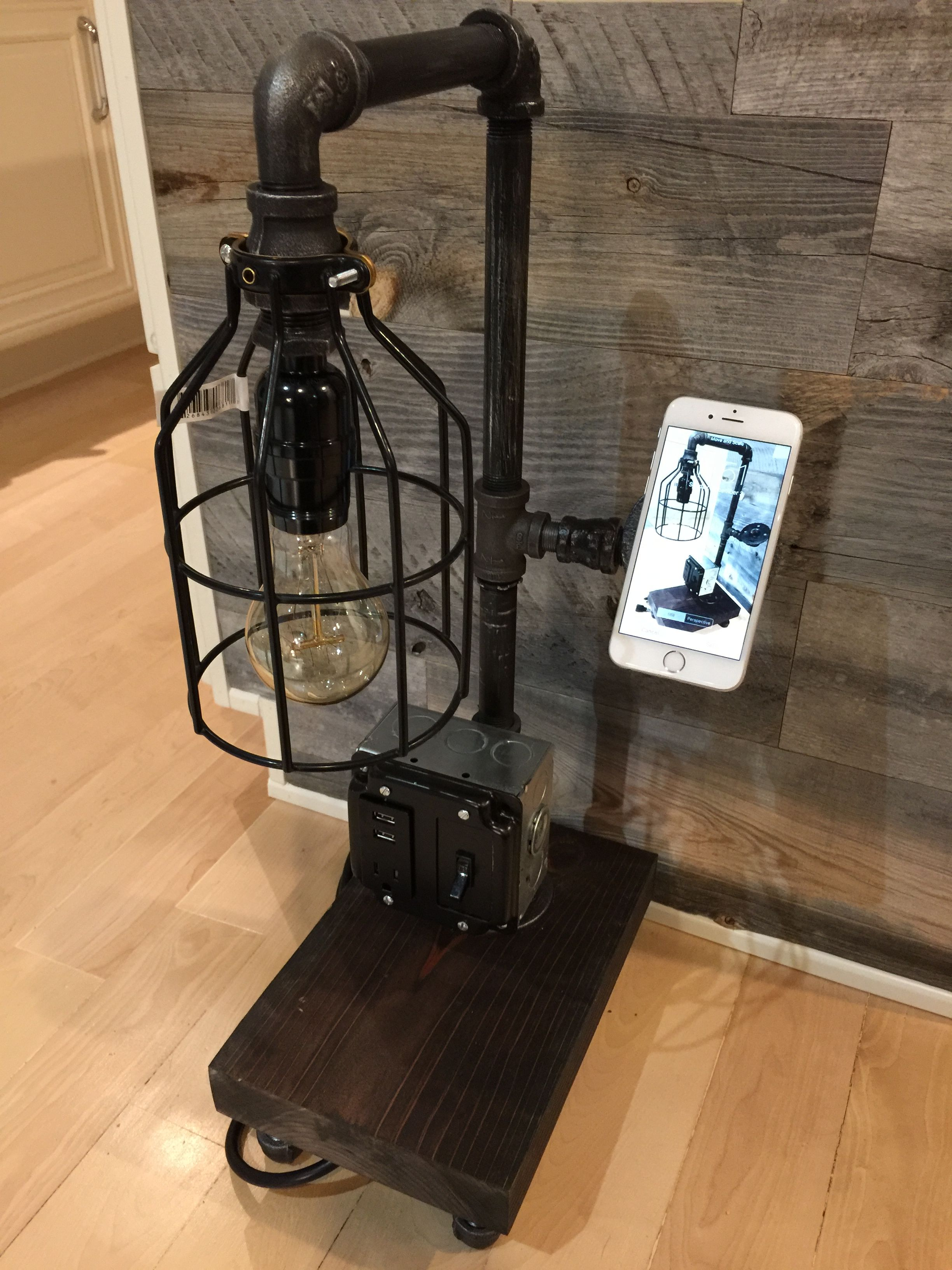Gas Pipe Lamp Diy