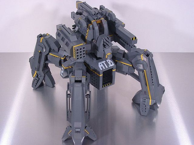 ASCENSION Class Mech 1 by mondayn00dle, via Flickr