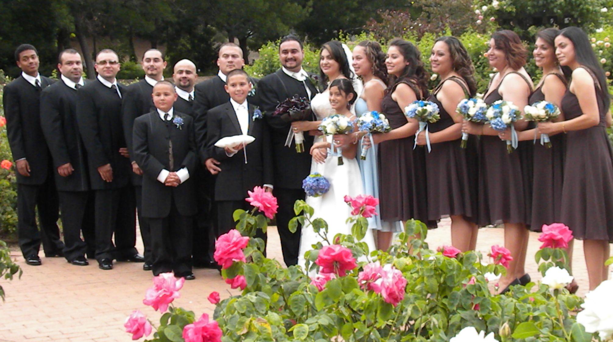 Tom Burgos Latin wedding, Catholic wedding traditions