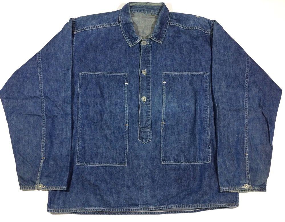 1548db85fd1 Ccc u.s. army pullover denim shirt in 2019