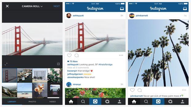 Οι τετράγωνες φωτογραφίες δεν είναι πια μονόδρομος στο #Instagram! #socialmedialife