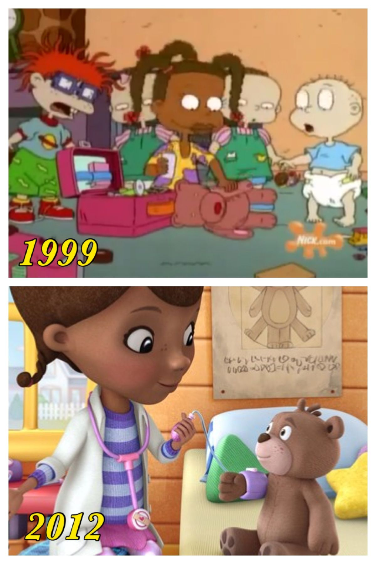 """Rugrats """"Doctor Susie"""" episode and Doc Mc Stuffins"""