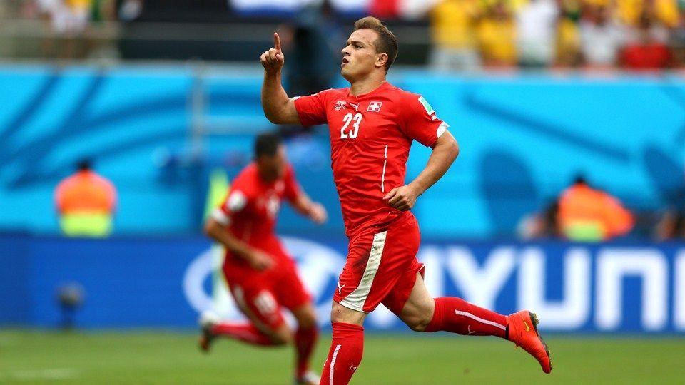 Xherdan Shaqiri Sui 1st Goal Honduras Vs Switzerland 0 3 Group E 25 June 2014 Mac Computer Zoho Fifa