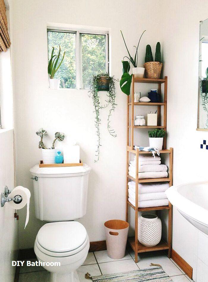 Great Diy Bathroom Towel Storage Ideas 1 Tiny Apartment Storage Small Bathroom Decor Modern Small Bathrooms