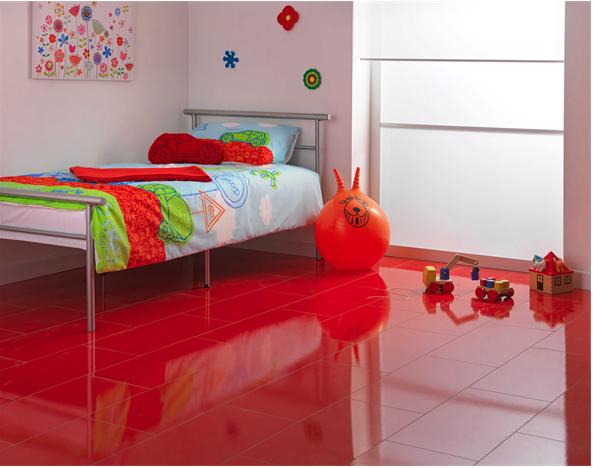 Red Gloss Laminate Tiles Flooring Beautiful Flooring Tile Effect Laminate