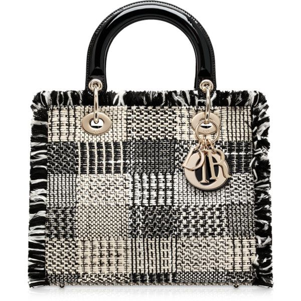 033460c532a LADY DIOR Black and white tweed