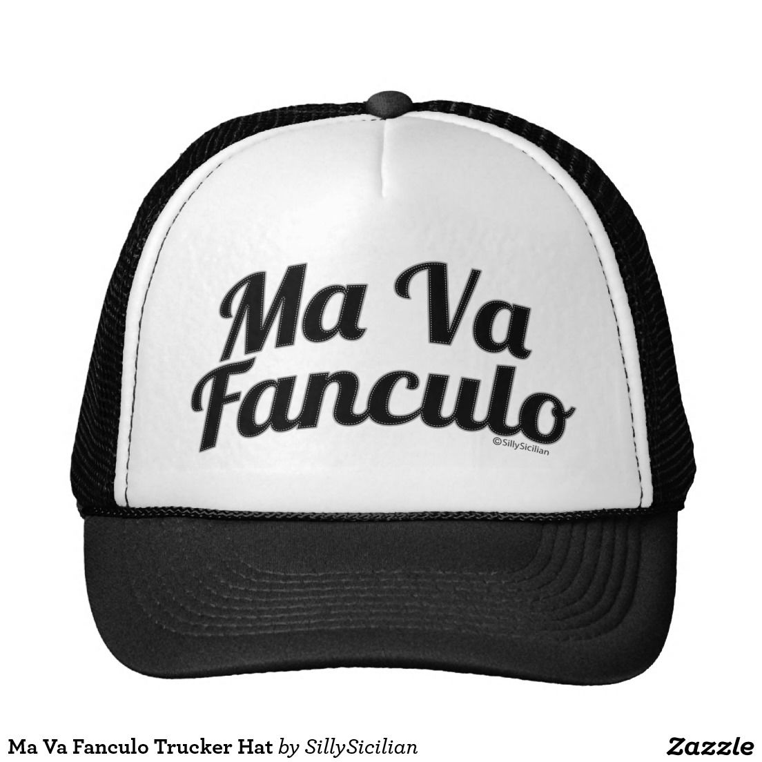 1aa849c1069 Ma Va Fanculo Trucker Hat