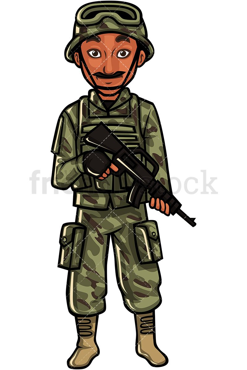 Indian Soldier in 2019 | b | Us army soldier, Army soldier, Vector