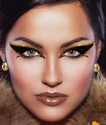 ancient egyptian women makeup  cleopatra makeup on xotic