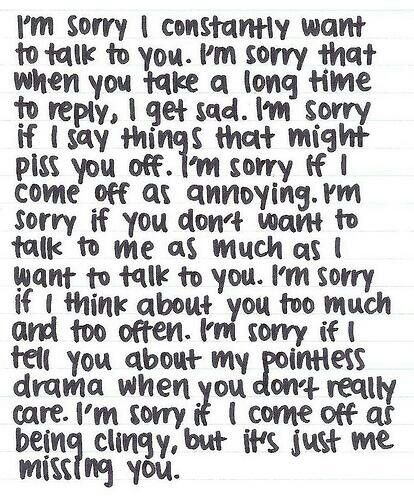 sorry i miss you quotes