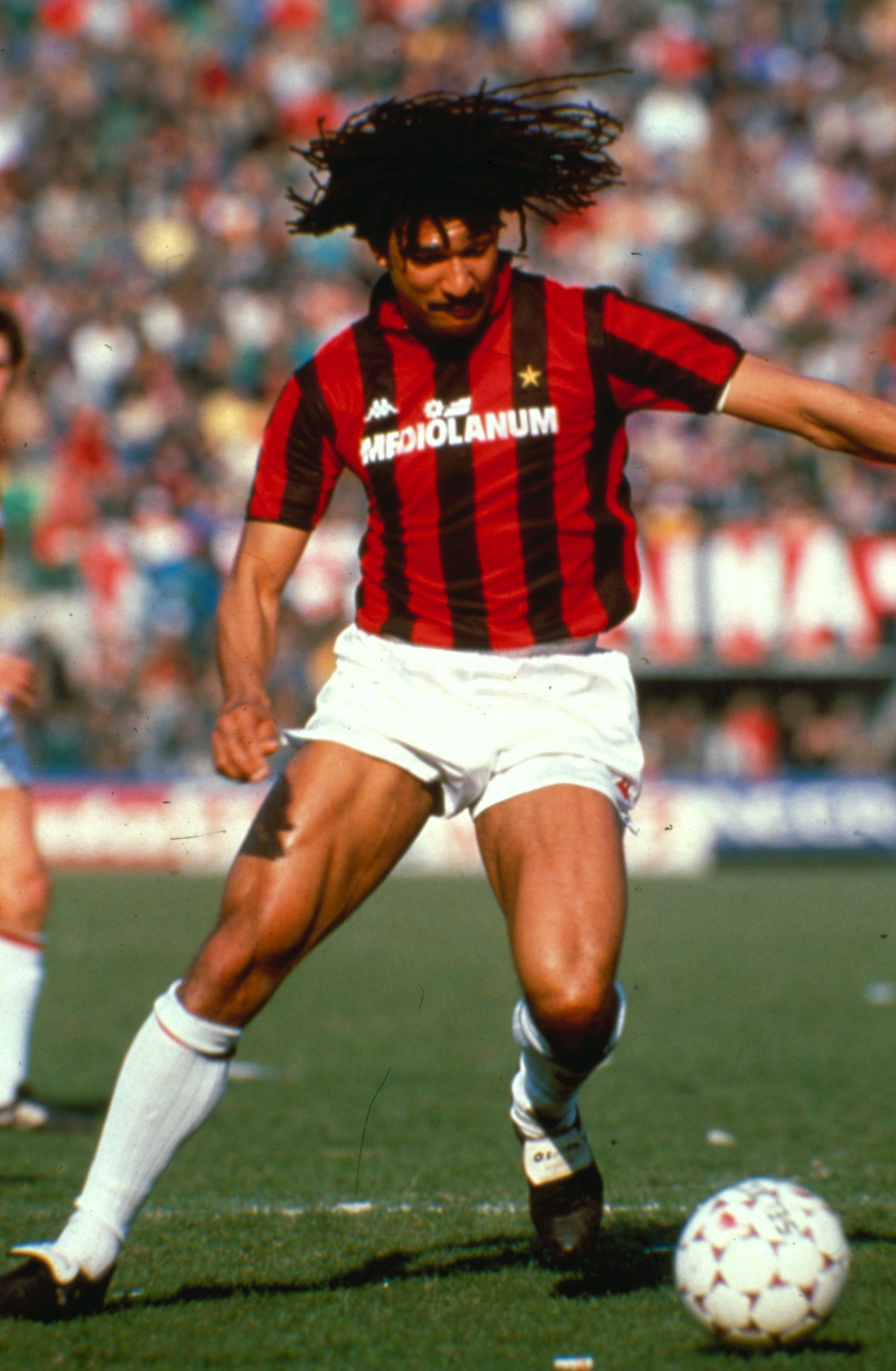 Ruud Gullit - AC Milan | Foto di calcio, Calciatori, Calcio