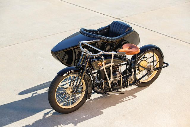 Offered From The Larry Bowman Collection 1922 Ace With Flxi Observer Sidecar Frame No 21336 Engine No B4375 Classic Motorcycles Motorcycle Vintage Cafe Racer