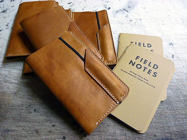 I love this Field Notes cover with a slot for a pen by Greg - field note
