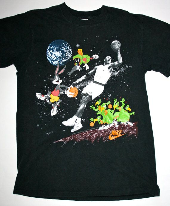 136e0774 Vintage 90′s Nike Space Jam Michael Jordan Tee | Sports | Jordan ...